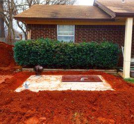 flat top patio style oklahoma tornado storm shelter moore oklahoma