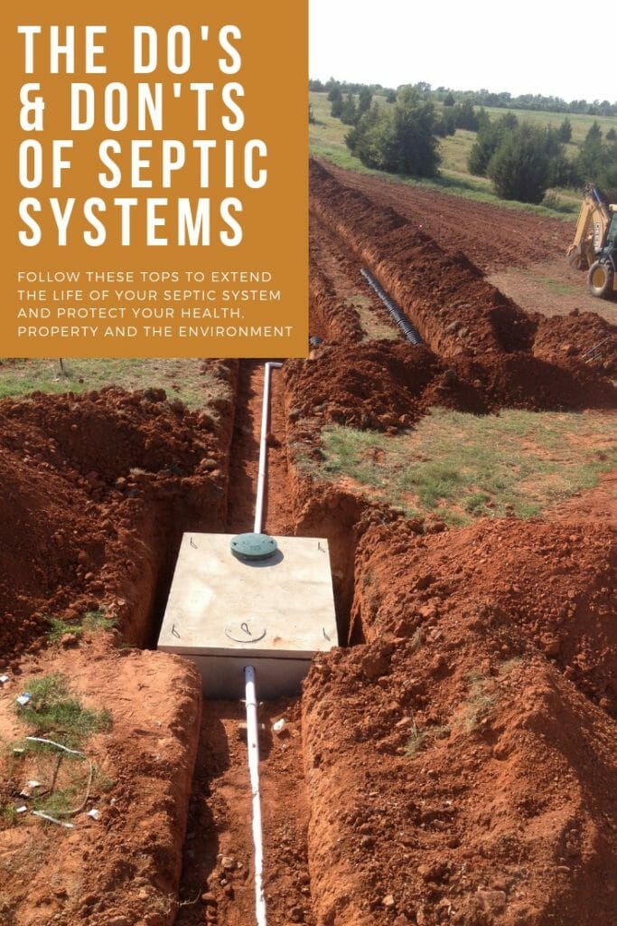 septic system tips
