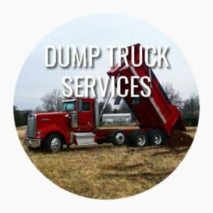 sprague's backhoe dump truck services