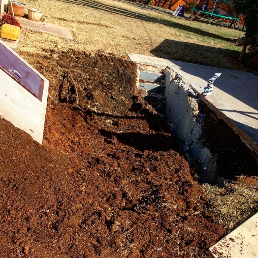 storm shelter removal