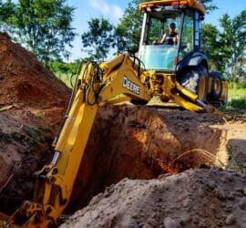 conventional septic system new lateral lines mustang oklahoma