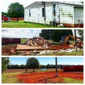 house demolition before and after oklahoma